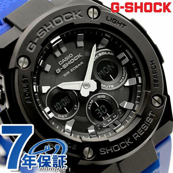 G-SHOCK Gショック Gスチール ソーラー メンズ 腕時計 GST-S300G-2A1DR CASIO ブラック【あす楽対応】