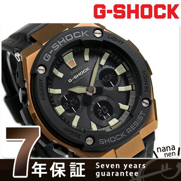 G-SHOCK Gスチール 電波ソーラー ブラック メンズ 腕時計 GST-W120L-1AER Gショック【あす楽対応】