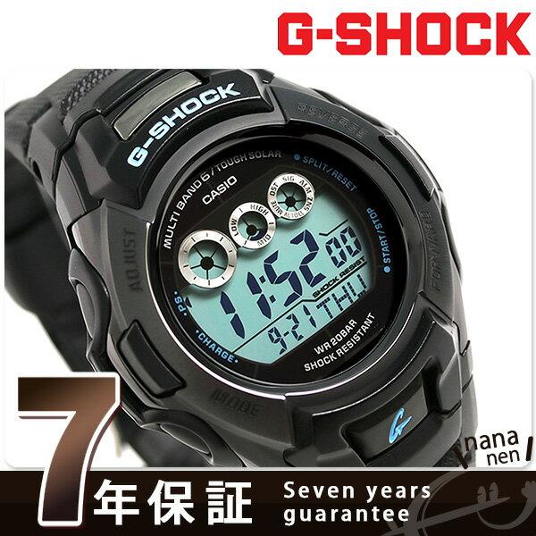 G-SHOCK ブラック × ブルーシリーズ 電波ソーラー 腕時計 GW-M500BA-1CR カシオ Gショック 時計