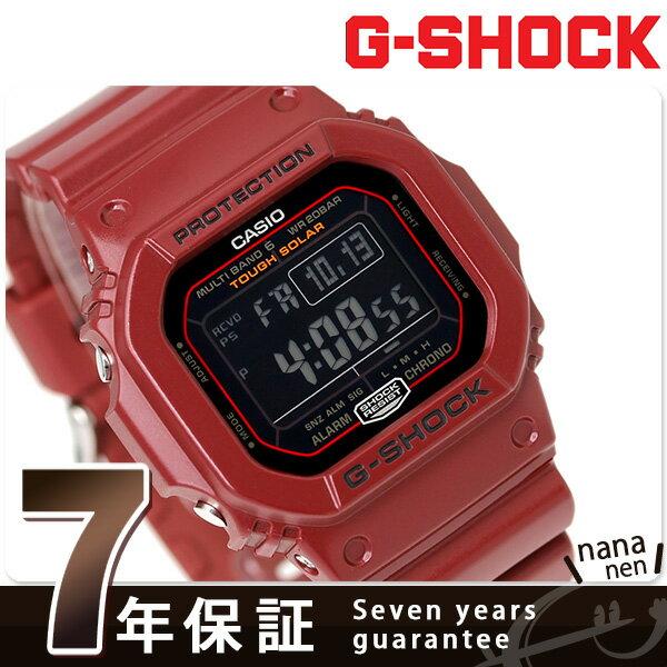 G-SHOCK CASIO カシオ Gショック 5600シリーズ GW-M5610EW-4ER 電波ソーラー 腕時計 ブラック 時計【あす楽対応】