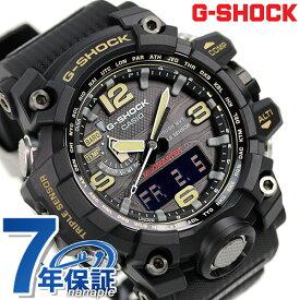 G-SHOCK ブラック マスターオブG 電波ソーラー 温度計 気圧計 高度計 方位計 GWG-1000-1AER Gショック 腕時計 時計【あす楽対応】