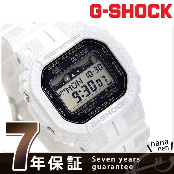 G-SHOCK 電波ソーラー Gライド メンズ 腕時計 GWX-5600WA-7ER カシオ Gショック ホワイト 時計【あす楽対応】