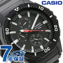 kashiochipukashiomaruchifankushon MRW-400H-1AVDF CASIO人手錶全部黑色鐘表