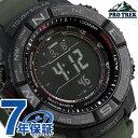 【今なら店内ポイント最大49倍】 カシオ プロトレック 電波ソーラー メンズ 腕時計 PRW-3510Y-8ER CASIO PRO TREK ブラック 時計【あす楽対応】