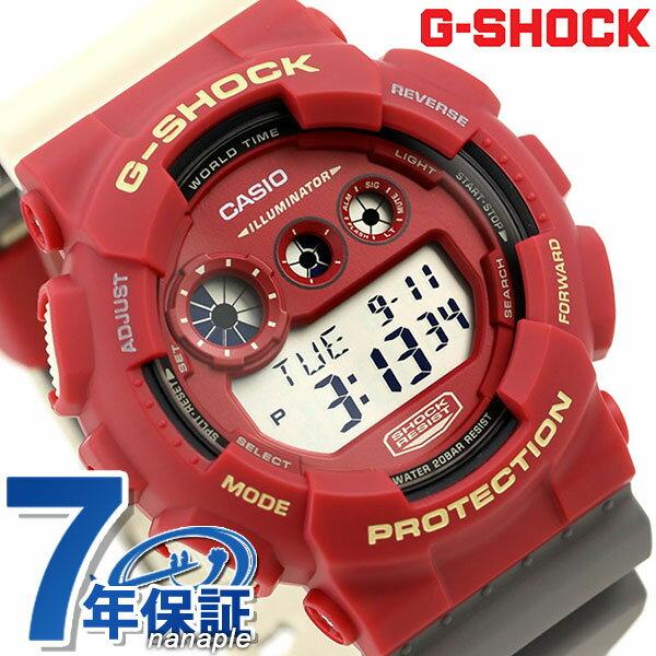 【エントリーでさらにポイント+4倍!26日1時59分まで】 G-SHOCK スペシャルカラー メンズ 腕時計 デジタル GD-120NC-4DR カシオ Gショック レッド 時計【あす楽対応】