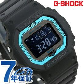 【15日は全品5倍にさらに+4倍でポイント最大32.5倍】 G-SHOCK 電波ソーラー GW-B5600 デジタル Bluetooth 腕時計 GW-B5600-2ER Gショック ブラック【あす楽対応】