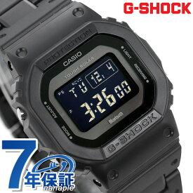【15日は全品5倍にさらに+4倍でポイント最大32.5倍】 G-SHOCK ブラック 電波ソーラー GW-B5600 デジタル Bluetooth 腕時計 GW-B5600BC-1BER Gショック オールブラック 時計【あす楽対応】