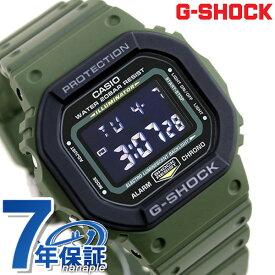 G-SHOCK デジタル メンズ 腕時計 DW-5610SU-3DR カシオ Gショック ブラック×カーキ 時計【あす楽対応】