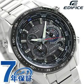 【4日20時〜全品5倍でポイント最大30倍】 カシオ エディフィス メンズ 腕時計 EQS-500 ソーラー アナログ EQS-500DB-1A1DR CASIO EDIFICE ブラック 黒【あす楽対応】
