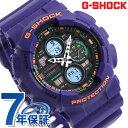 G-SHOCK Gショック GA-140 アナデジ GA-140-6ADR カシオ 腕時計 ブラック×パープル【あす楽対応】