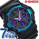 G-SHOCK 電波 ソーラー メンズ 腕時計 黒 ブラック パープル グリーン GAW-100BL-1AER カシオ Gショック スペシャルカ…