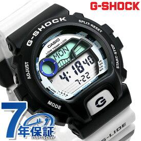 15日限定さらに+18倍で店内ポイント最大51倍! G-SHOCK Gショック Gライド GLX-6900 腕時計 デジタル GLX-6900SS-1DR ブラック カシオ ウミヘビ【あす楽対応】