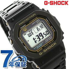 【20日は全品5倍以上で店内ポイント最大42倍】 G-SHOCK Gショック チタン 限定モデル GMW-B5000 電波 ソーラー 腕時計 GMW-B5000TB-1ER カシオ 時計 ブラック【あす楽対応】