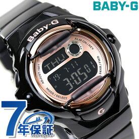 Baby-G レディース CASIO ピンクゴールドシリーズ デジタル ブラック × ピンクゴールド BG-169G-1DR 腕時計 時計【あす楽対応】