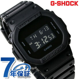 【20日は全品5倍にさらに+4倍でポイント最大21.5倍】 G-SHOCK ブラック CASIO DW-5600BB-1DR 腕時計 カシオ Gショック ソリッドカラーズ オールブラック 時計【あす楽対応】