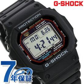 G-SHOCK CASIO 電波 ソーラー GW-M5610-1ER 5600シリーズ 腕時計 カシオ Gショック アウトドア ブラック 時計【あす楽対応】