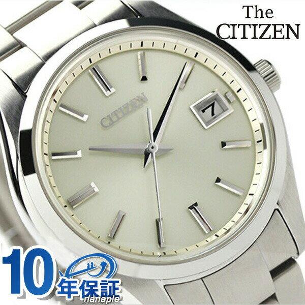ザ・シチズン スタンダードモデル ソーラー メンズ AQ4000-51A THE CITIZEN 腕時計 ゴールド 時計