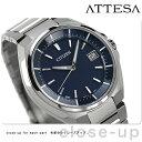 CB3010-57L シチズン アテッサ 電波ソーラー CITIZEN ATTESA メンズ 腕時計 ネイビー