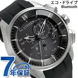 シチズン エコドライブ Bluetooth スマートウォッチ チタン BZ1040-09E CITIZEN 腕時計 ブラック 時計