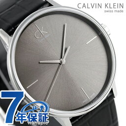 ck CK重音40.5mm皮革皮帶人手錶K2Y2X1C3灰色銀子鐘表