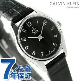 カルバンクライン クラシック クオーツ レディース 腕時計 K4D231CX ブラック 時計【あす楽対応】