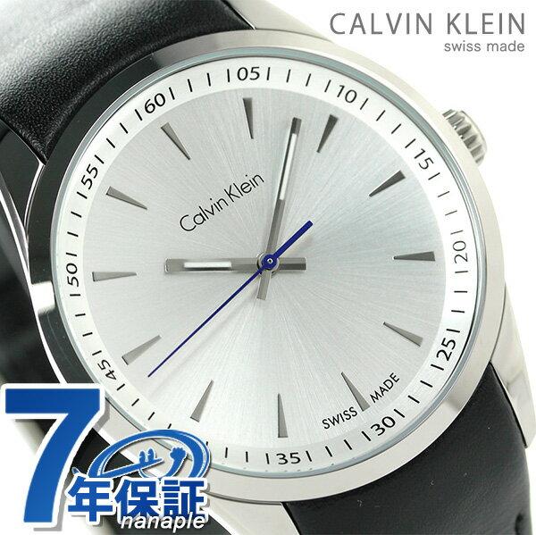 カルバンクライン ボールド メンズ 腕時計 K5A311C6 シルバー×ブラック 時計【あす楽対応】
