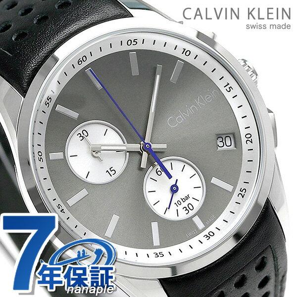 【エントリーでさらにポイント+4倍!21日20時〜26日1時59分まで】 カルバンクライン ボールド 41mm クロノグラフ スイス製 K5A371.C3 CALVIN KLEIN 腕時計 時計【あす楽対応】