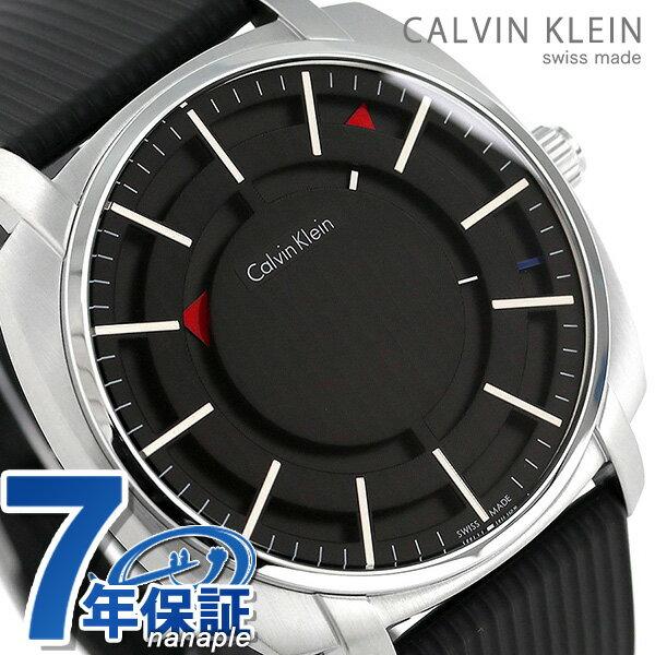 【エントリーでさらにポイント+4倍!21日20時〜26日1時59分まで】 カルバンクライン ハイライン 43mm スイス製 メンズ K5M3X1.D1 CALVIN KLEIN 腕時計 時計【あす楽対応】
