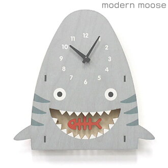 Clock modern mousse wall clock shark pendulum Barthes Birch wood modern moose PCPEN025