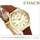 コーチ デランシー 28mm クオーツ レディース 腕時計 14502248 COACH アイボリー【あす楽対応】