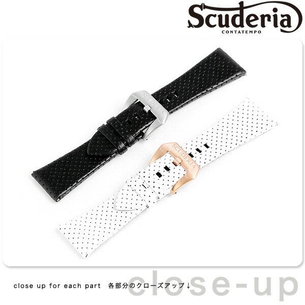 CT スクーデリア 交換用ベルト 替えベルト カーフレザー 26mm 腕時計 CTS-BELT-PL