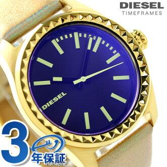 DZ5460 디젤 레이디스 손목시계 클레이 클레이 쿼츠 블랙 DIESEL