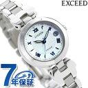 シチズン エクシード エコドライブ電波時計 チタン 日本製 レディース 腕時計 ES9420-58A CITIZEN EXCEED ホワイトシェル