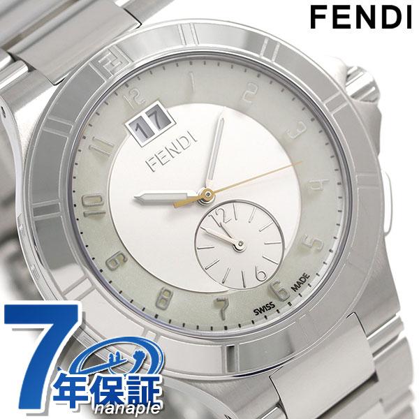 【当店なら!さらにポイント最大+4倍!21日1時59分まで】 フェンディ ハイスピード クオーツ スイス製 メンズ 腕時計 F478160 FENDI ホワイト 新品 時計