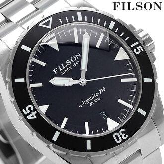 20001749 Filson divers Dutch Harbor 43mm men's FILSON watch black
