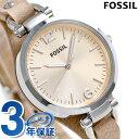 フォッシル ジョージア クオーツ レディース 腕時計 ES2830 FOSSIL ピンクゴールド