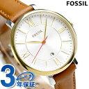 フォッシル ジャクリーン クオーツ レディース 腕時計 ES3737 FOSSIL ホワイト