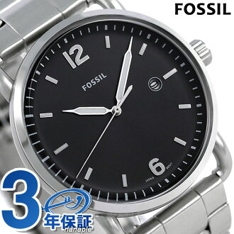 フォッシルコミューター 42mm quartz men watch FS5391 FOSSIL black clock