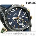 フォッシル ネイト 50mm クロノグラフ メンズ 腕時計 JR1494 FOSSIL ネイビー×ガンメタル【あす楽対応】