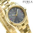 フルラ FURLA エヴァ 25mm レディース 腕時計 R4253101507 ダークブルー×ゴールド
