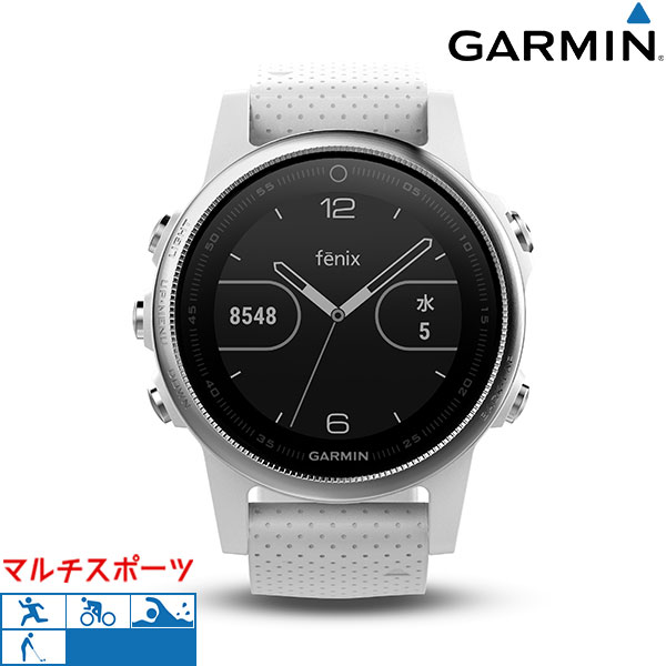 ガーミン GARMIN マルチスポーツ ランニング 腕時計 fenix 5S 010-01685-36 GPSスマートウォッチ 時計【あす楽対応】