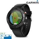 ガーミン GARMIN Approach S60 GPS ゴルフナビ メンズ レディース 腕時計 010-01702-20 アプローチ エス60 ブラック 時計