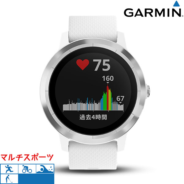 ガーミン GARMIN vivoactive 3 ヨガ ゴルフ ランニング 010-01769-72 GPSスマートウォッチ 腕時計 時計