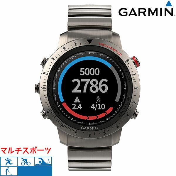 ガーミン GARMIN マルチスポーツ ランニング 腕時計 チタン フェニックスJ 010-01957-34 GPSスマートウォッチ 時計【あす楽対応】