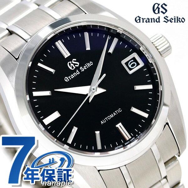 【当店なら!さらにポイント+4倍 25日10時〜】グランドセイコー 9Sメカニカル 37mm メンズ 腕時計 SBGR253 GRAND SEIKO ブラック 時計