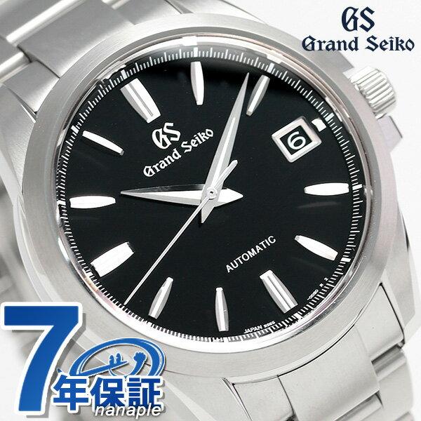 【当店なら!さらにポイント+4倍 25日10時〜】グランドセイコー 9Sメカニカル 42mm メンズ 腕時計 SBGR257 GRAND SEIKO ブラック 時計【あす楽対応】