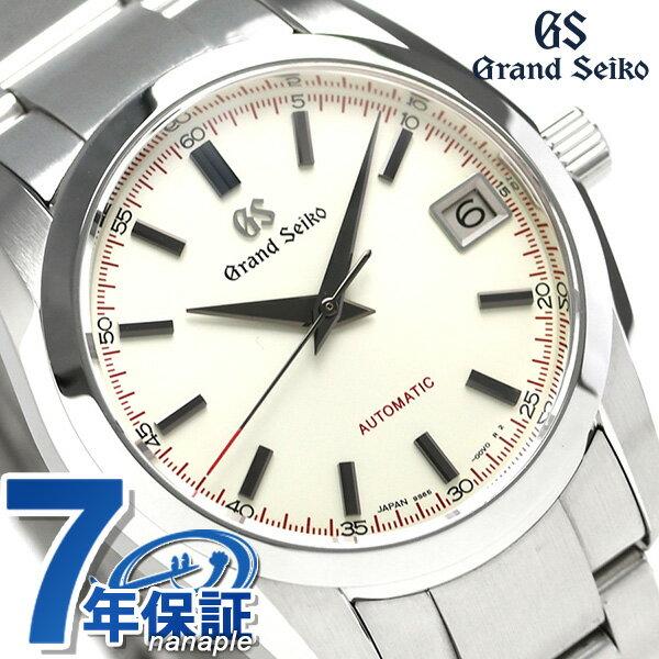 【当店なら!さらにポイント+4倍 25日10時〜】グランドセイコー 9Sメカニカル 37mm メンズ 腕時計 SBGR271 GRAND SEIKO アイボリー 時計【あす楽対応】