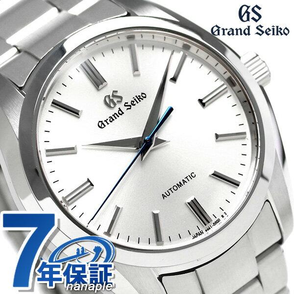 【当店なら!さらにポイント+4倍 25日10時〜】グランドセイコー 9Sメカニカル 41mm メンズ 腕時計 SBGR299 GRAND SEIKO シルバー 時計
