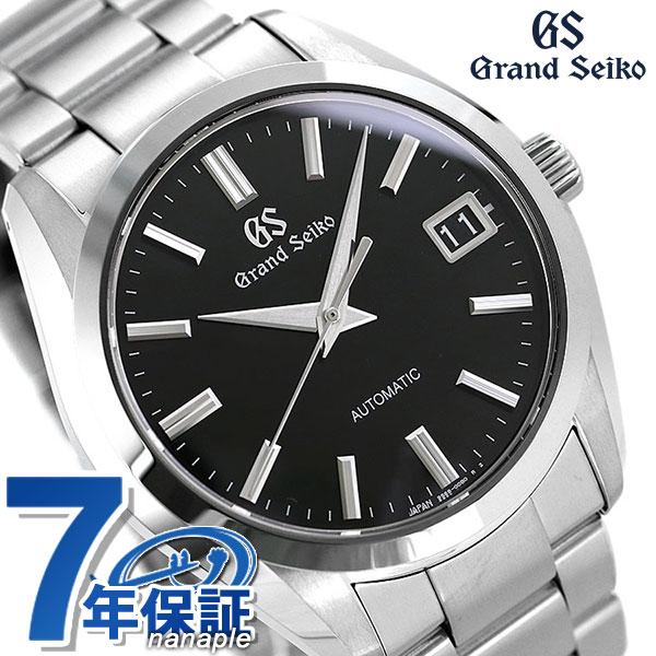 【当店なら!さらにポイント+4倍 25日10時〜】グランドセイコー 9Sメカニカル メンズ 腕時計 SBGR309 GRAND SEIKO ブラック 時計【あす楽対応】