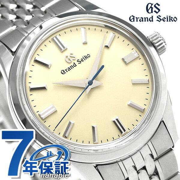 【当店なら!さらにポイント+4倍 25日10時〜】グランドセイコー 9Sメカニカル 37mm メンズ 腕時計 SBGW235 GRAND SEIKO アイボリー 時計